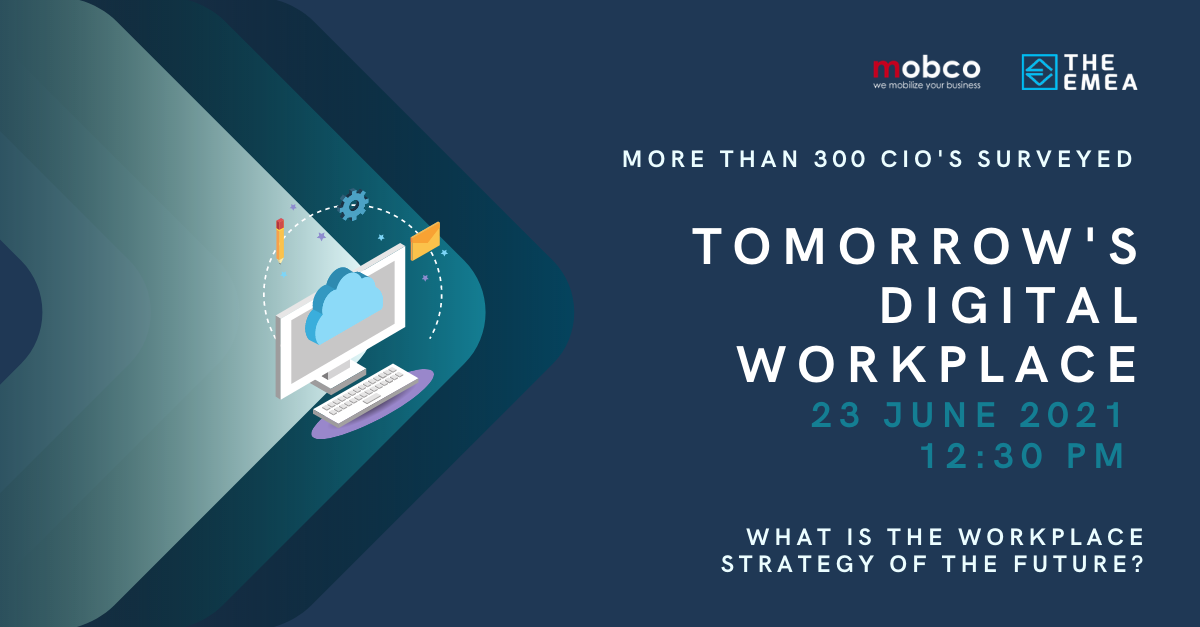 EMEA's latest webinar on tomorrow's digital workplace